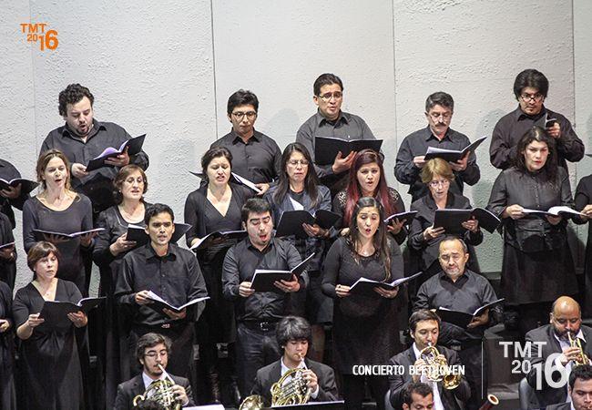"""Coro Teatro Municipal Temuco, """"Fantasía Coral"""" Beethoven, TMT2016"""