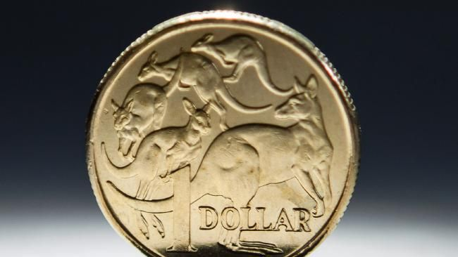Australian dollar at two-year high after fall in value of the US dollar