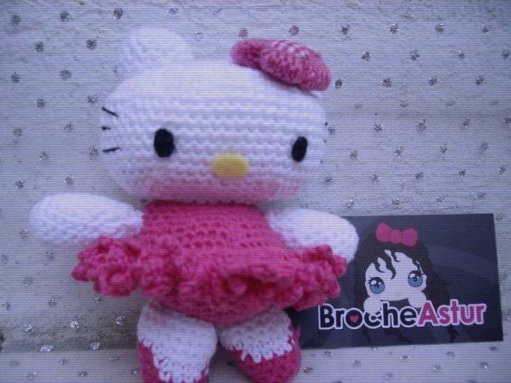 Hello kitty amigurumi. Amigurumies Pinterest Ballet ...
