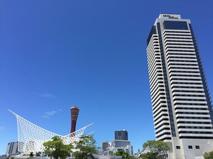神戸ポートタワーと海洋博物館、ホテルオークラ神戸