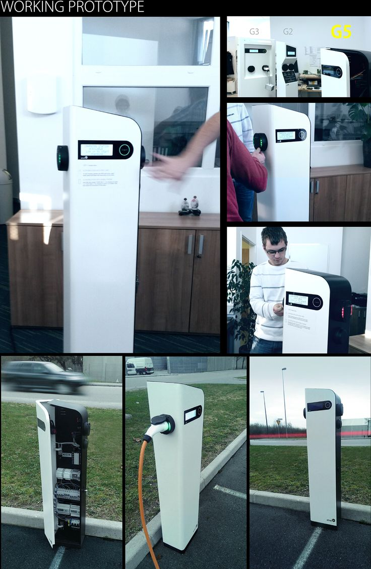 G6 Public Charging Station for Electric Vehicles on Behance