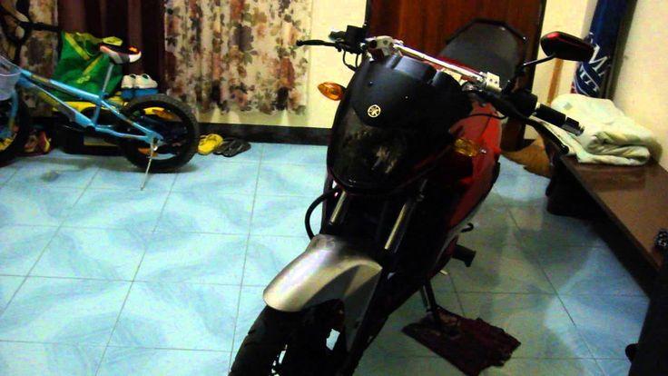 My Yamaha SZ-R new engine cover by MJ Omar
