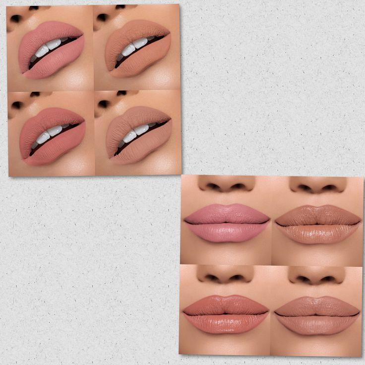 ผลการค้นหารูปภาพสำหรับ Kylie Send Me More Nudes Liquid Lipstick Set