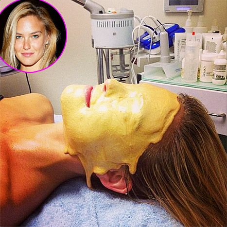 Bar Refaeli's Gold Facial: All the Details - Us Weekly