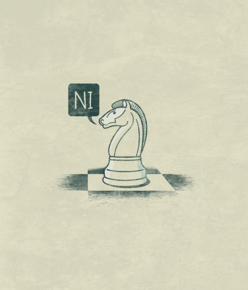 The Knights Who Say Ni: Montypython, Art Prints, Funny Stuff, Monty Python, Dr. Who, T Shirts, Nerdy Things, Geeky Stuff, John Tibbott