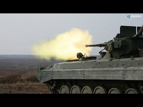 Вогневі випробування бойових модулів «Шквал» та «Стілет» — Новини України