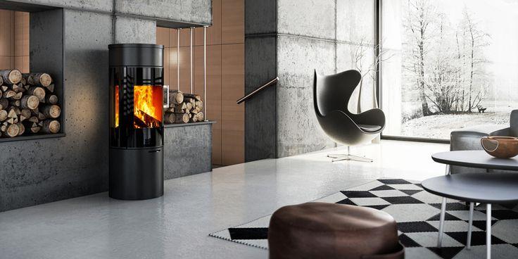 VIVA 120. Glasklar ein Siegertyp   Viel schwarz beschichtetes Keramikglas macht VIVA 120 zum Hingucker. Elegant präsentiert VIVA 120 viel sichtbares Feuer und das gar mit Verbrennungswerten die zuerst mal einer nachmachen muss. VIVA 120. Ein Sieger nach Punkten. Von Attika Feuerkultur.