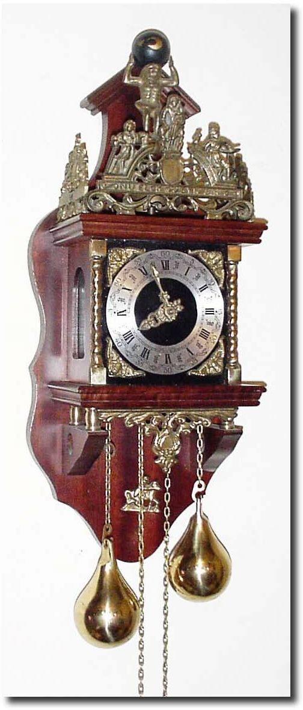 West German Antique Clocks   Antique German or Germany Wall WagOnWall Clock