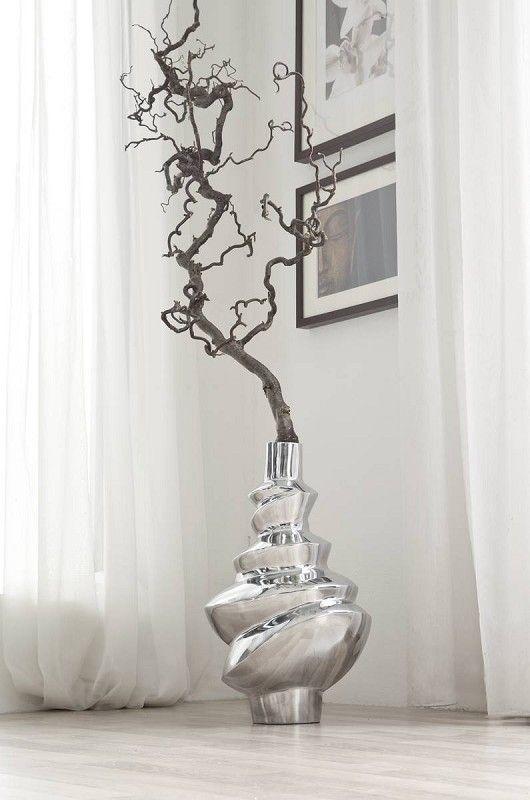 Die besten 25+ Vase silber Ideen auf Pinterest Silber deko
