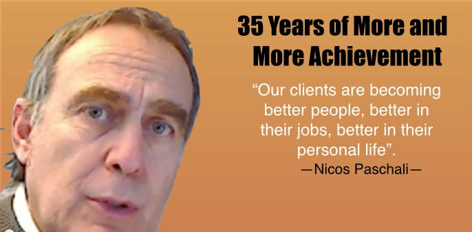"""Our clients are becoming better people, better in their jobs, better in their personal life""."
