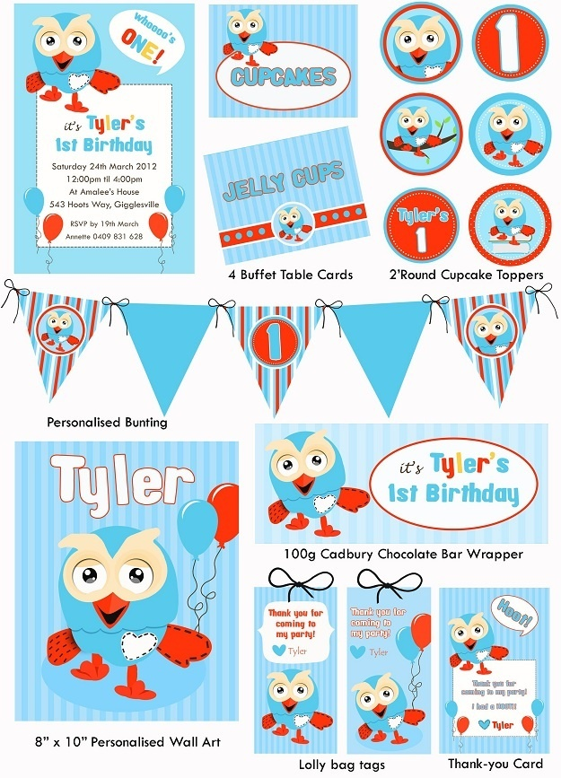 Giggle and hoot party inspiration