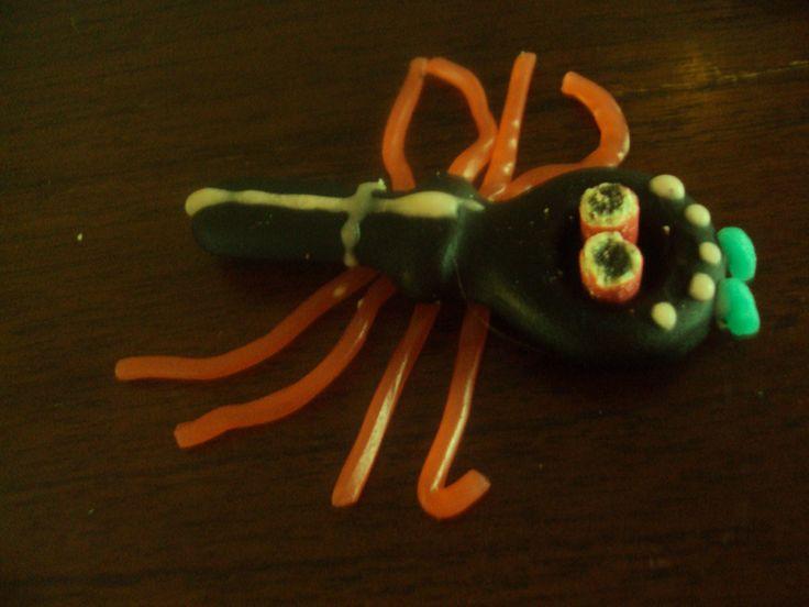 Halloween snoep spinnen