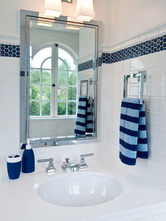 Bathroom Designs Blue And White 131 best blue and white bathroom ideas images on pinterest