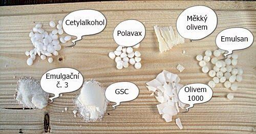 MishaBeauty - DIY kosmetika: Emulgační vosky - porovnání
