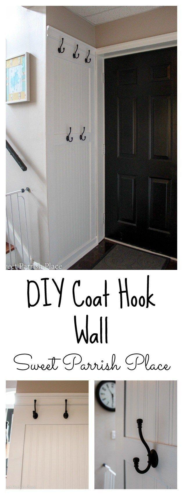 Best 25+ Diy coat hooks ideas on Pinterest | Entryway coat ...