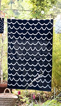 Towel from Gudrun Sjödén.