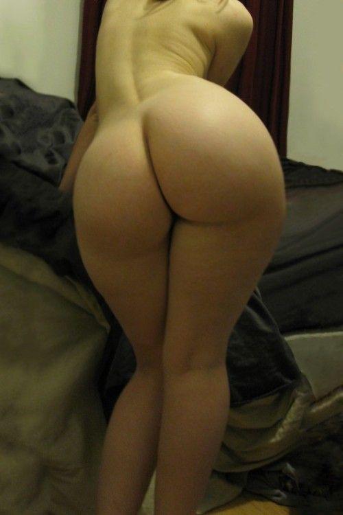 Ass bare butt jump naked pull white