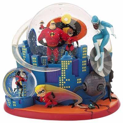 Disney Incredibles Snow Globe