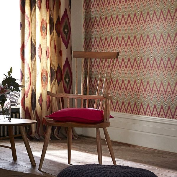 nueva coleccin de scion papel pintado formas geomtricas para decorar tus paredes destaca por