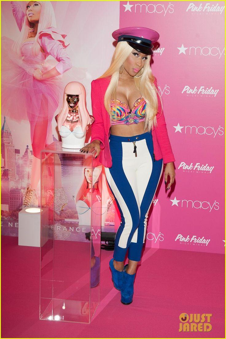 Nicki Minaj: 'Pink Friday' Fragrance Launch! i want her perfume