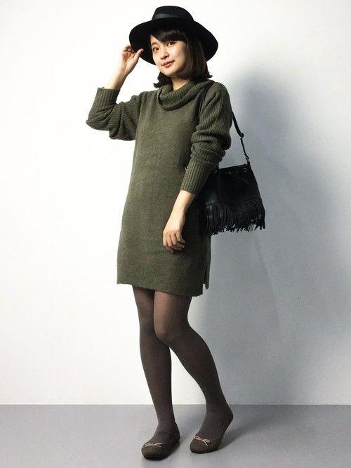 普段使い出来るおしゃれアイテムスエードバレエシューズのファッションスタイルコーデを集めました♡