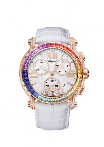 Chopard Happy Sport Rose Gold Chrono Watch