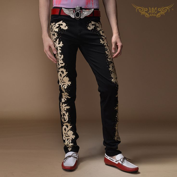 Mens Casual fashion black personalize male singer stage show ds costumes men's clothing embroidery skinny jeans men long pants     Tag a friend who would love this!     FREE Shipping Worldwide     Buy one here---> http://onlineshopping.fashiongarments.biz/products/mens-casual-fashion-black-personalize-male-singer-stage-show-ds-costumes-mens-clothing-embroidery-skinny-jeans-men-long-pants/