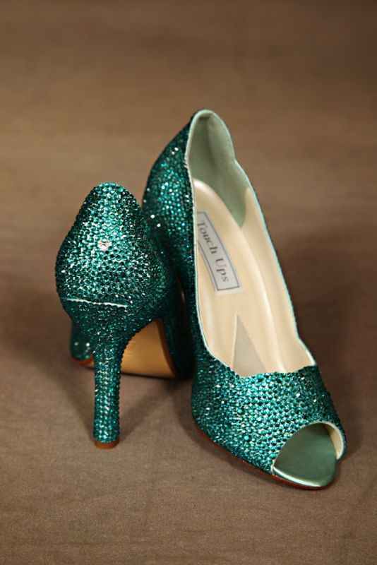 Teal Wedding Shoes 003 - Teal Wedding Shoes