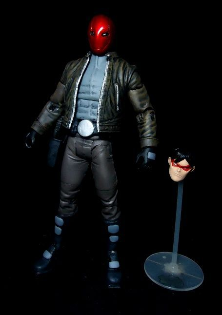 Red hood from under the hood movie (DC Universe) Custom Action Figure