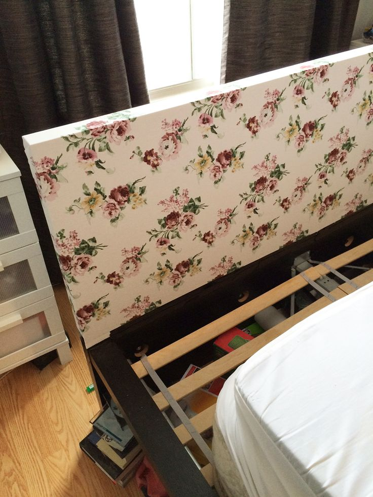 Customizing Ikea S Malm Bed Headboard Diy Pinterest