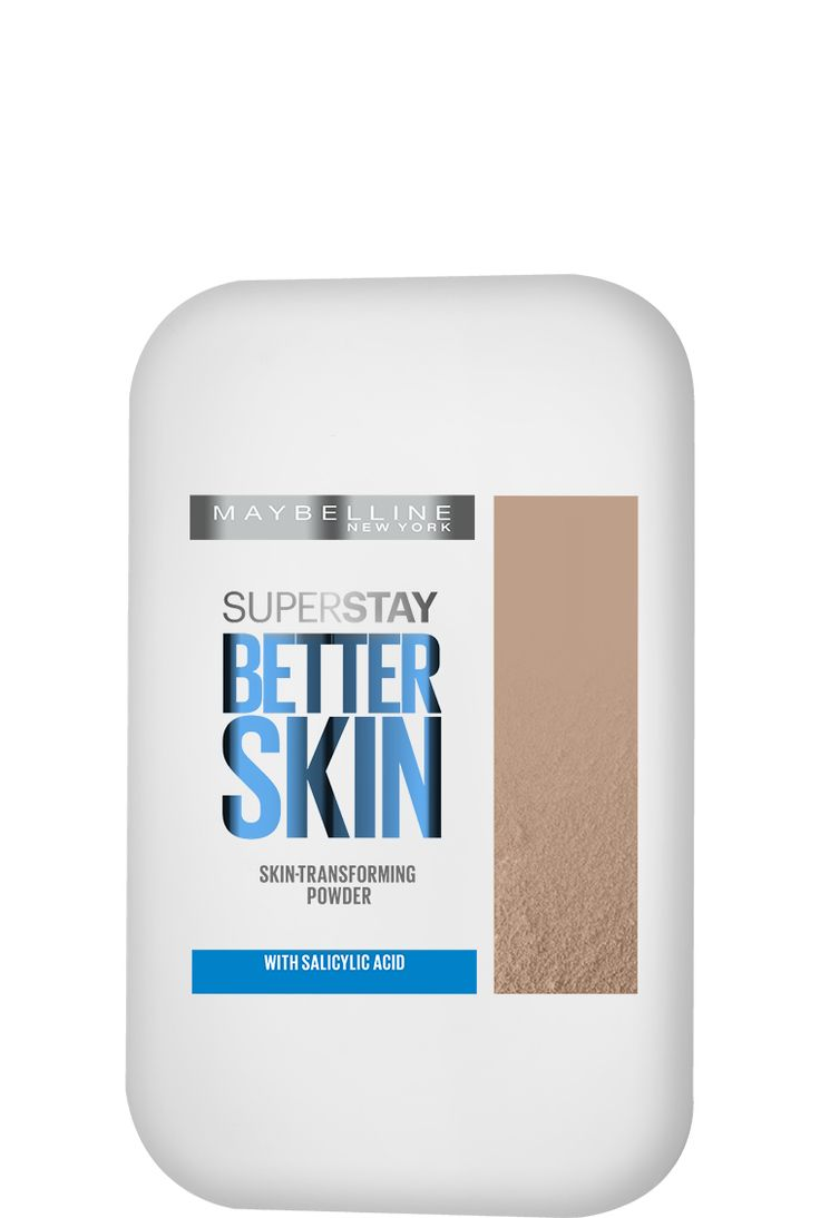 Super Stay Better Skin Skin-Transforming Powder by Maybelline. Mattifying powder with all day oil-control for flawless makeup & better looking skin in 3 weeks.