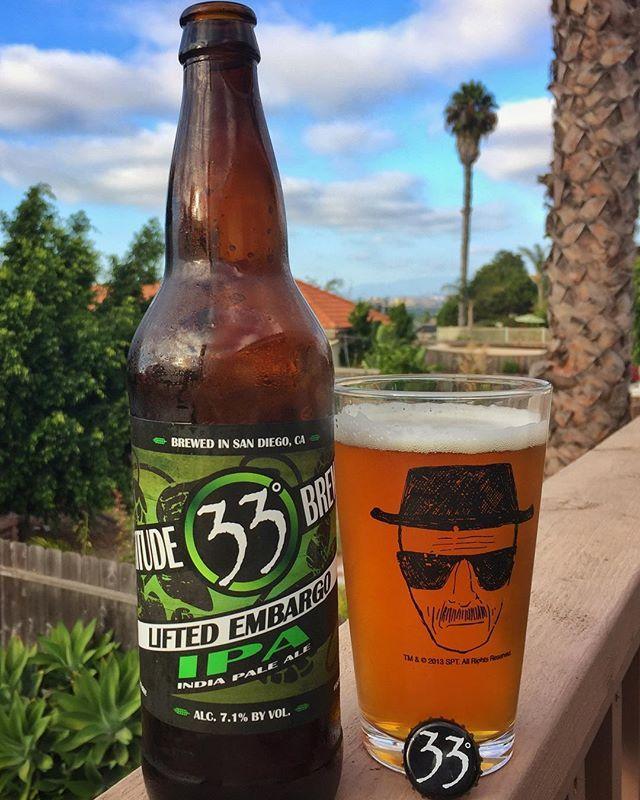 The embargo has been lifted on this weekend! 🍺 . . . . . . . #instabeer #beerstagram #beerporn #beer #beerme #sandiegobeer #lattitude33 #liftedembargo #ipa #craftnotcrap #cheers #sandiego #sandiegoconnection #sdlocals #sandiegolocals - posted by Rob https://www.instagram.com/beermesd. See more San Diego Beer at http://sdconnection.com