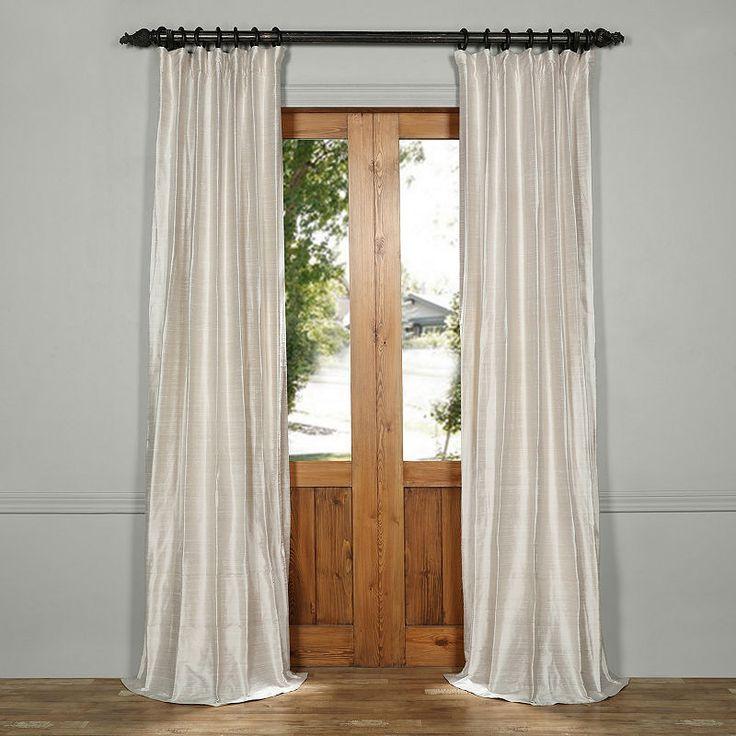 Exclusive Fabrics & Furnishing Textured Dupioni Si…