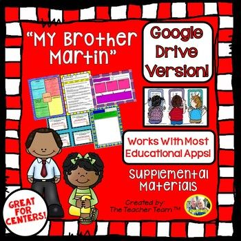 "BRAND NEW Google Interactive Journeys Resources! Use technology to engage students to enhance your Journeys stories, perfect for CENTERS, STATIONS, ELA ROTATIONS, EARLY FINISHERS, and HOMEWORK. Journeys aligned! This package contains a variety of activities from the story ""My Brother"