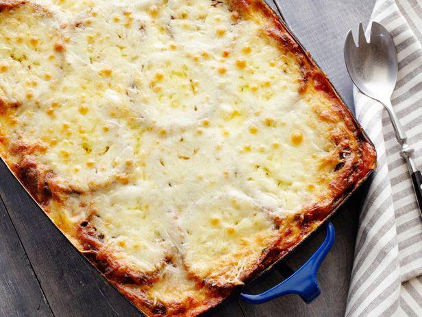 Saw her make this on tv.... Omgoodness looks soooo good!!! Eggplant Parmigiana Recipe : Alex Guarnaschelli : Food Network