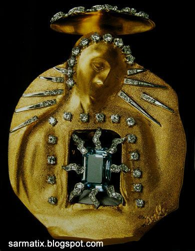 Madonna of the Aquamarine - jewelry by Salvador Dali, Figueres, Spain.