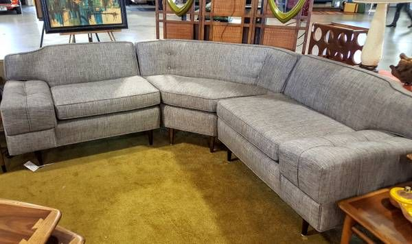 Vintage Raleigh Craigslist 1950 Retro Sofa Couch Sectional