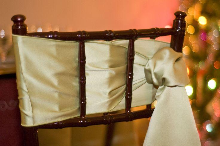 Fern Green Satin Sash. #yyceventrentals www.greateventsrentals.com