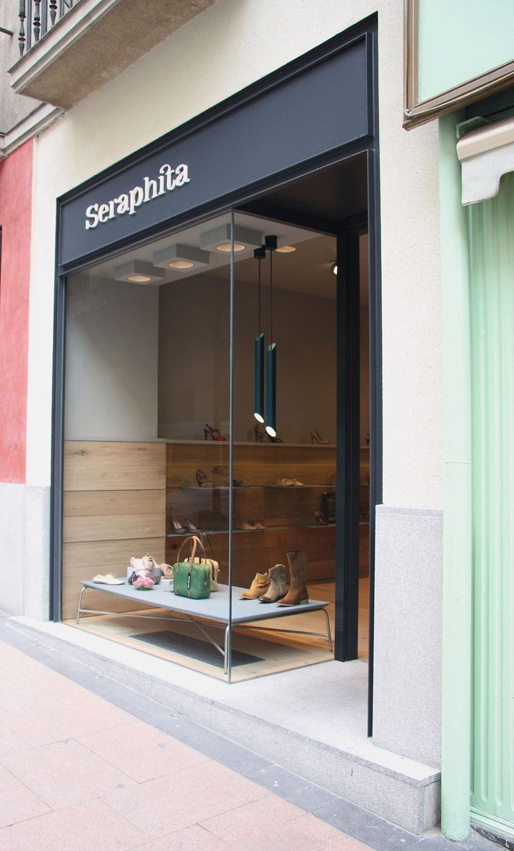 Seraphita shoe shop by Stone Designs, Madrid store design
