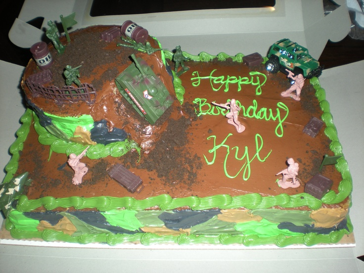 Army Cake Ideas Pinterest Prezup for