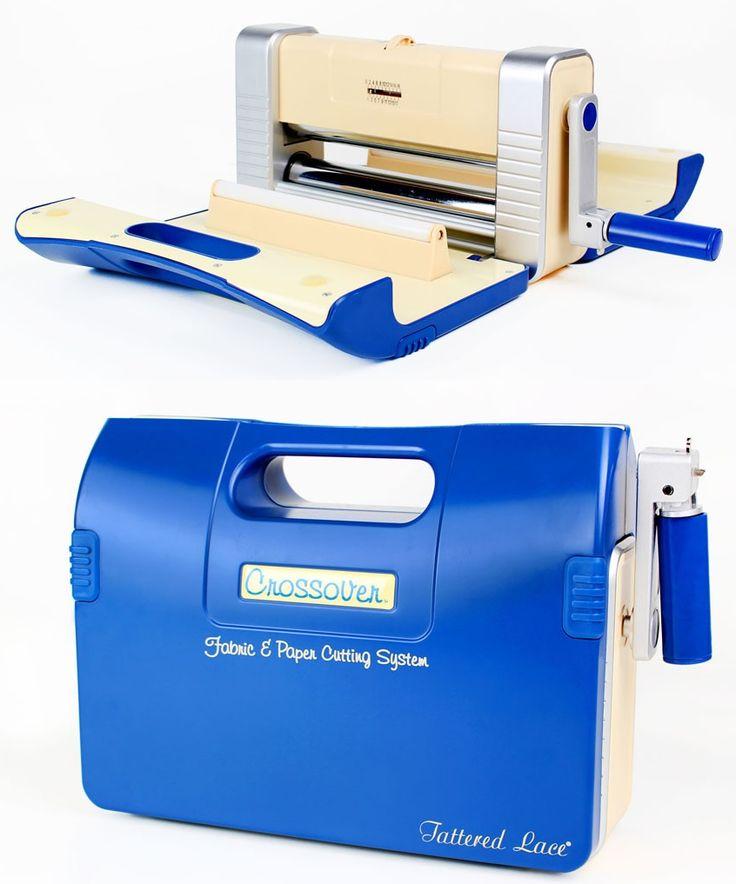 Tattered Lace Crossover - Papier-Stoff Stanz/Embossing Maschine. Super Maschine #TatteredLace #Crossover #Stanzschablonen #Monis-Bastelstube.de