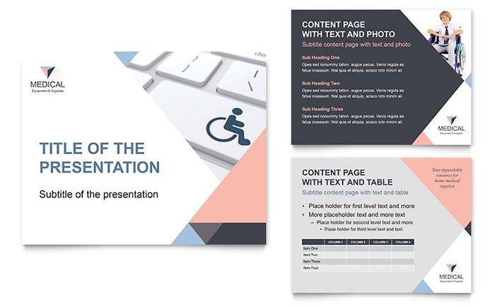 Home medical equipment powerpoint presentation design template by home medical equipment powerpoint presentation design template by stocklayouts design inspiration ii pinterest medical equipment toneelgroepblik Images