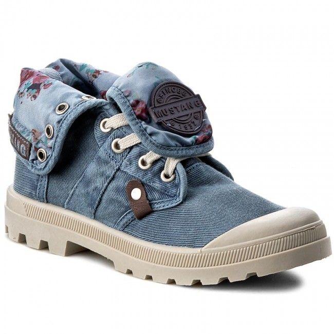 Turistická obuv MUSTANG - 38C0074 Blau
