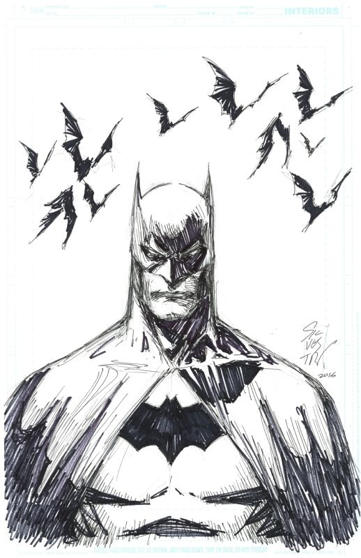 Batman by Marc Silvestri                                                       …