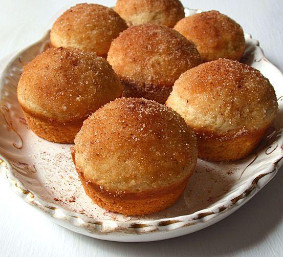 Easy Cinnamon Sugar Coffee Cake Muffins ~ Moist, Delicious & Freezer ...