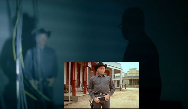 Homage to the original gunslinger played by Yul Brynner in S1E6.