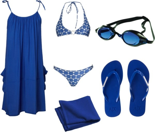 """""""A Trip to the Pool Outfit"""" by marissa-anne-weddle on Polyvore"""