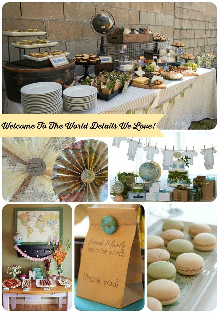 Welcome To The World Baby Shower Ideas  B. Lovely Events