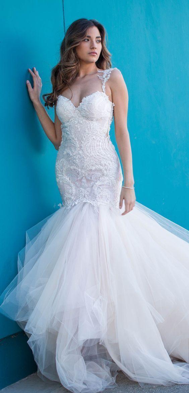 グラマラスな雰囲気になれる「ガリアラハヴ」♡ラグジュアリーな印象に♪白のウェディングドレス・花嫁衣装の参照まとめ一覧♡
