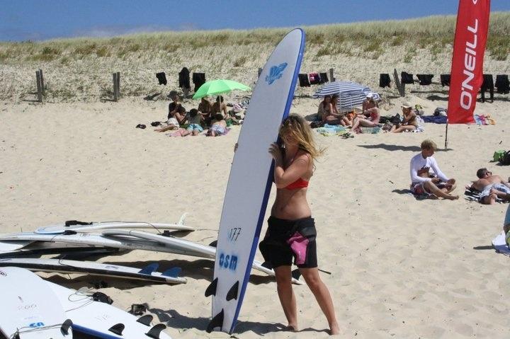 Surf à Mimizan #surf #landes #mimizan #planches #plage #beach